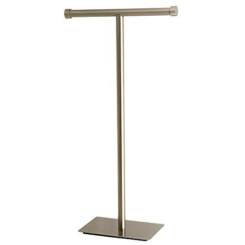 Kingston Brass CC8108 Claremont Freestanding Toilet Paper Stand, Satin Nickel