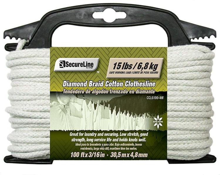 Ccl6100-4W Db Clothesline 100'