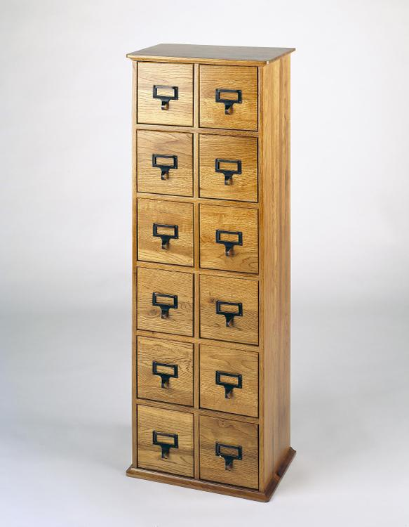 Leslie Dame Library Card File Media Cabinet