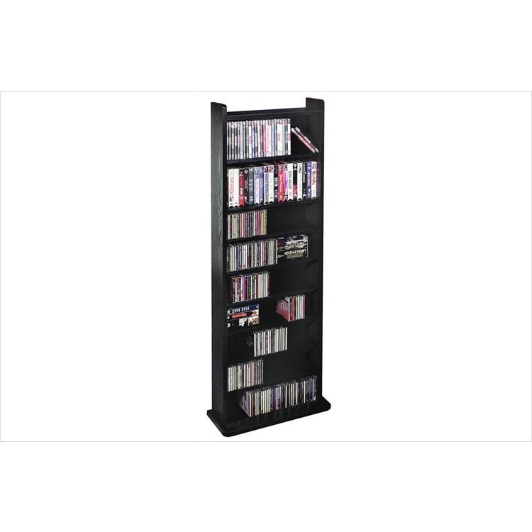Leslie Dame Vinyl Veneer High Capacity Wall Rack (CD-500 Series)