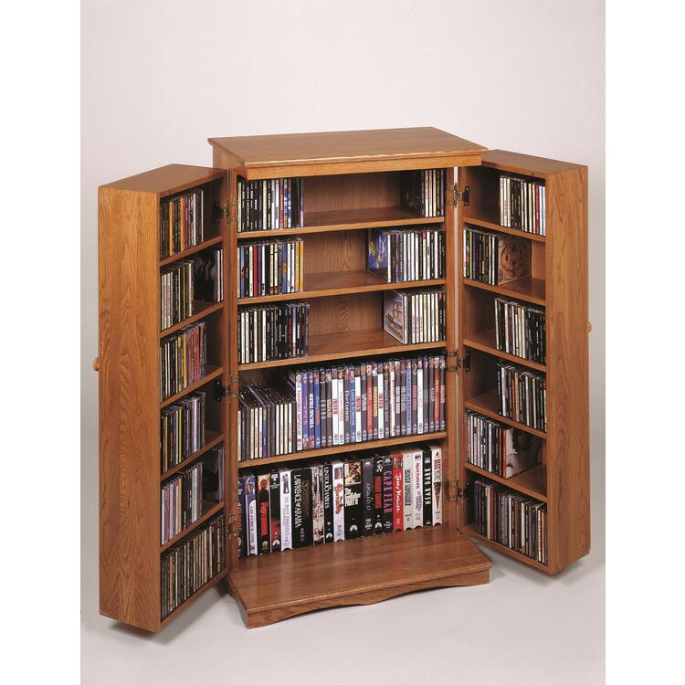 Leslie Dame Classic Mission Style Multimedia Cabinet