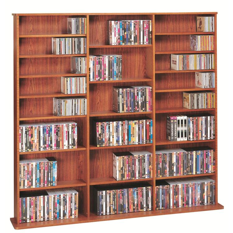 Oak Veneer High Capacity Wall Rack (CDV-1500 Series)