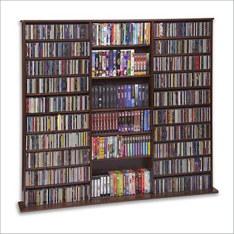 Leslie Dame Oak Veneer High Capacity Wall Rack