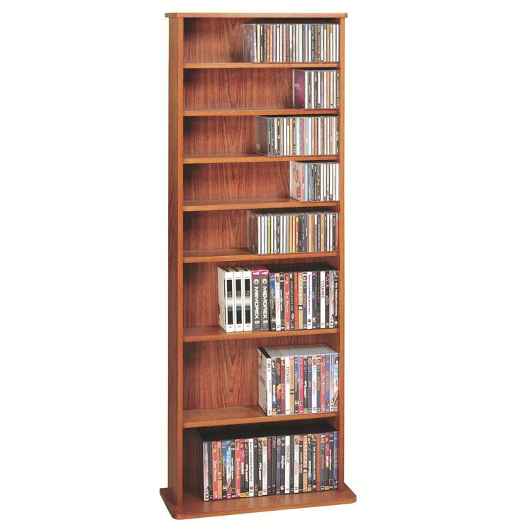 Leslie Dame High Capacity Multimedia Storage Rack