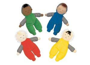 Baby's First Doll - Set of 4 Multi-Ethnic