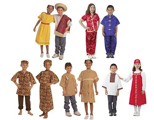 International Costumes - Set of 10