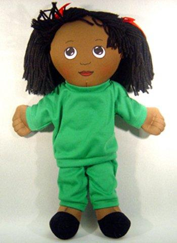 Sweat Suit Doll - African American Girl