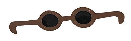 Dark Vinyl Eye Glasses
