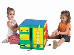 Developmental Play Cube