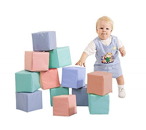 Toddler Baby Blocks - Pastel