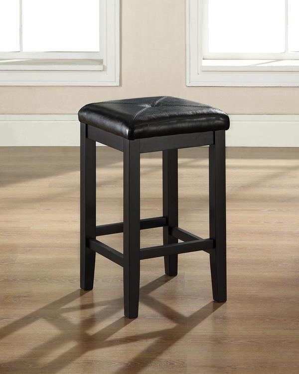 Crosley Upholstered Square Seat Bar Stool