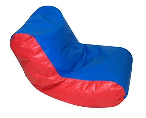 Preschool High Back Lounger - Blue and Red