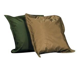 Indoor/Outdoor Pillow Set - Forest Green and Tan