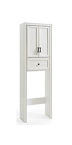 Crosley Tara Space Saver Cabinet In Vintage White