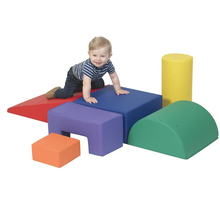 Children's Factory Climb and Play 6 Piece Play Set