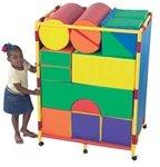 Soft Big Block Trolley - Set A