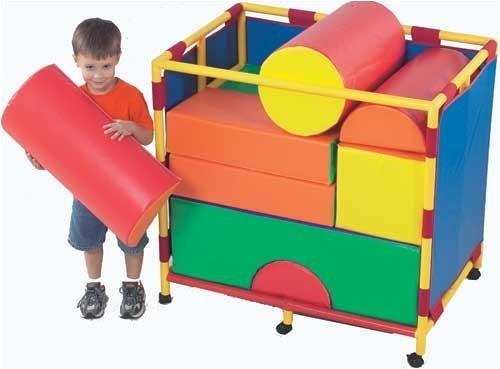 Soft Big Block Trolley - Set B