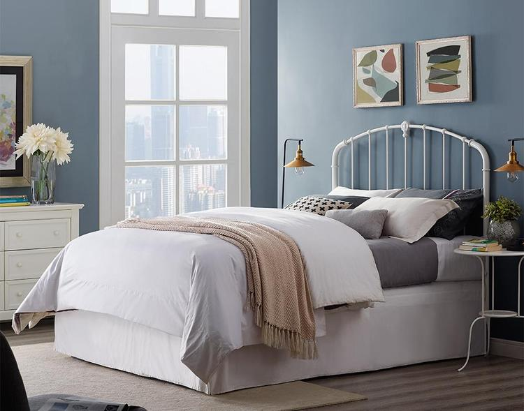 Crosley Hazel Metal Headboard and Footboard