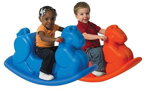 Molded Rocking Horses - Set of 2