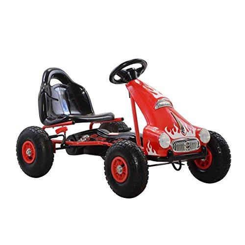 Top Racer Pedal Car, Red