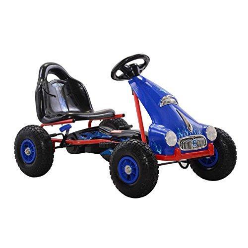 Top Racer Pedal Car, Blue
