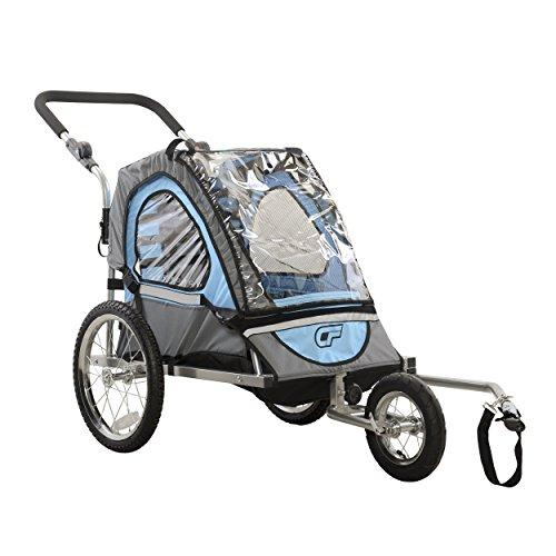 C12 Single Child 2-In-1 Bicycle Trailer & Jogger