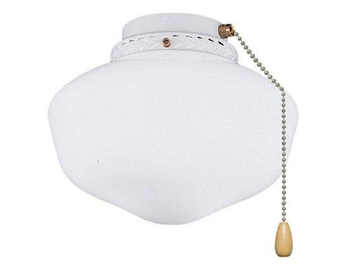 Schoolhouse Globe Light Kit - Damp Location