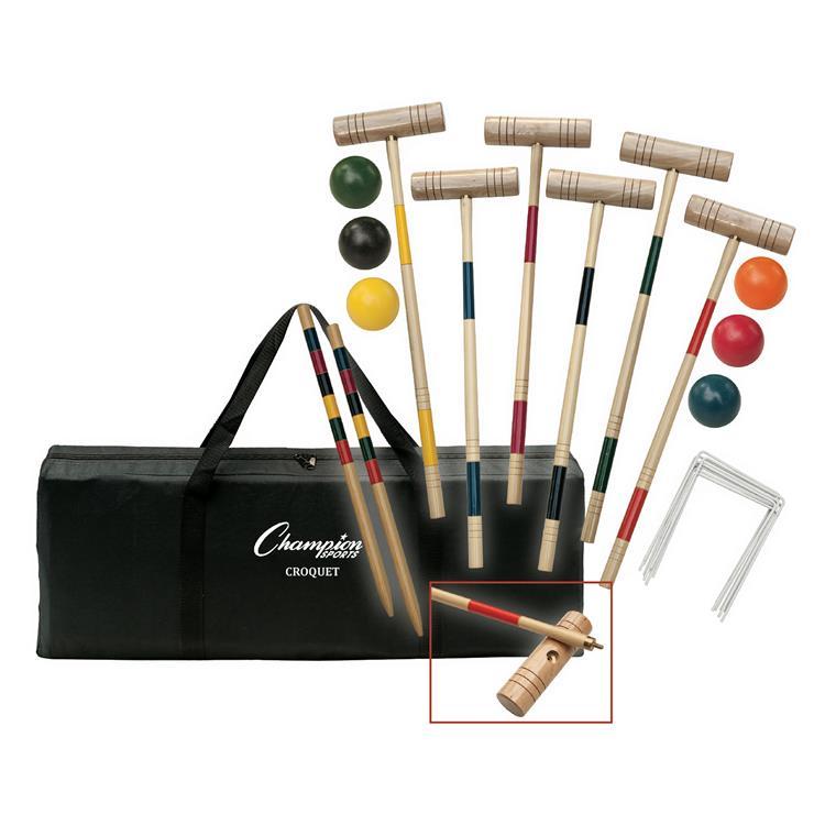 Tournament Series Croquet Set