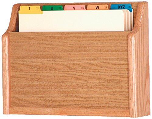 Single - Square Bottom Letter Size File Holder