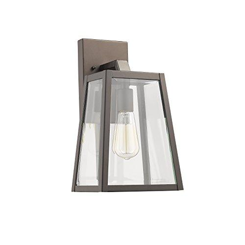 Leodegrance Transitional 1 Light Rubbed Bronze Outdoor Wall Sconce 14