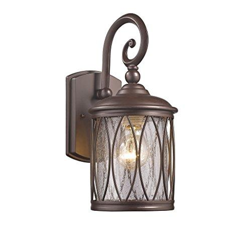Dinadan Transitional 1 Light Rubbed Bronze Outdoor Wall Sconce 13