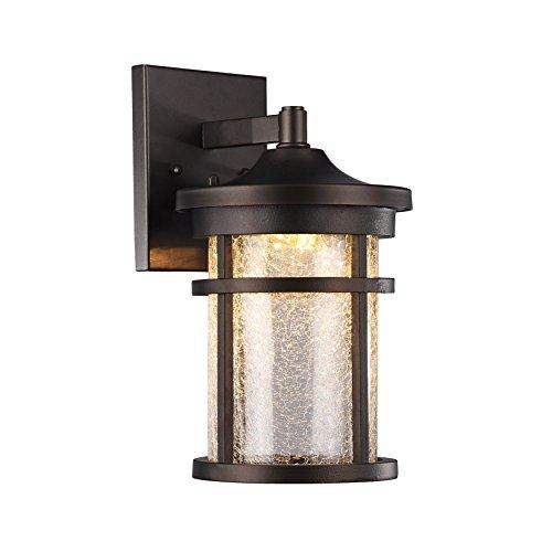 Frontier Transitional Led Rubbed Bronze Outdoor Wall Sconce 11