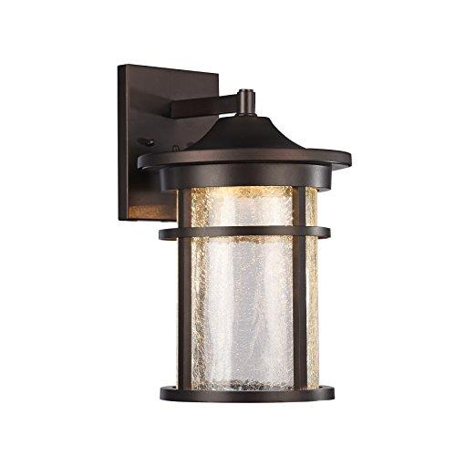 Frontier Transitional Led Rubbed Bronze Outdoor Wall Sconce 15