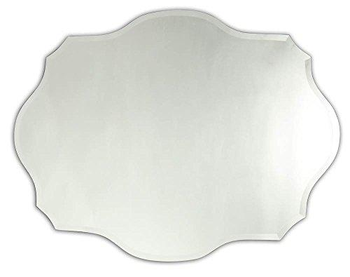 Caverly Large Frameless Wall Mirror 24X32