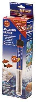 Penn Plax Cascade Heat? Preset Submersible Heater - 50 Watt/10 Gal