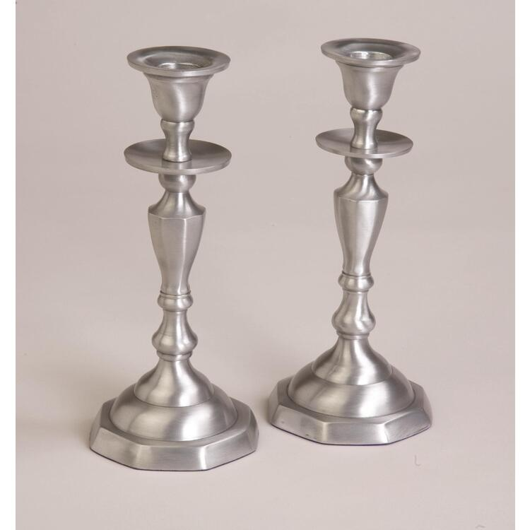 Aluminum Candle Holder Sold as a Pair