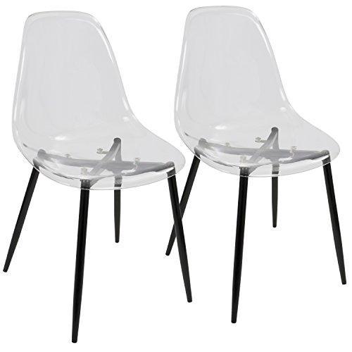 LumiSource  Clara Dining Chair - Set of 2