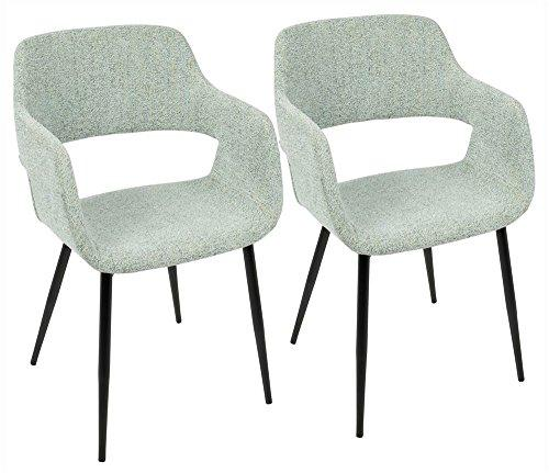 LumiSource  Margarite Chair Set of 2