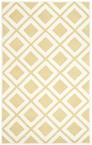 Transitional Rug - Chatham Wool Pile -Gold/Ivory