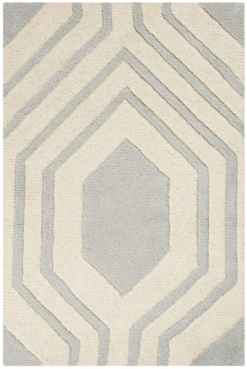 Chatham Grey/Ivory Large Rectangle Rug [Item # CHT760E-2]