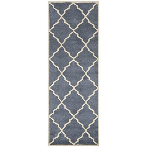 Contemporary Rug - Chatham Wool Pile -Grey
