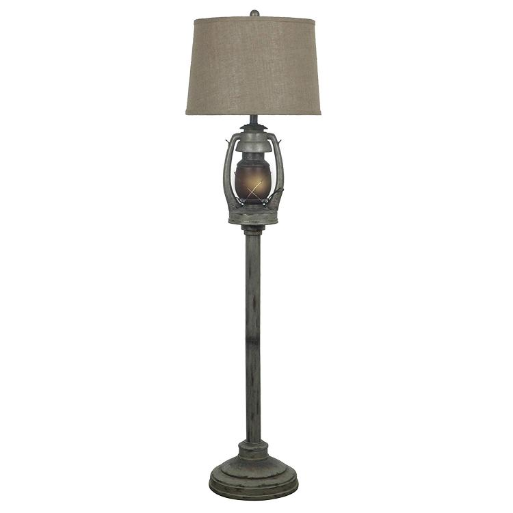 Oil Lantern Floor Lamp
