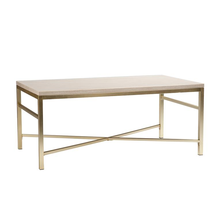 Orinda Faux Stone Cocktail Table