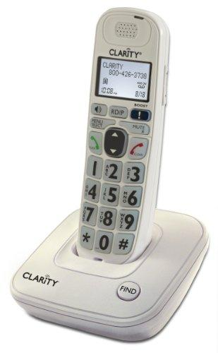 CLARITY 53702.000 DECT 6.0 Amplified Cordless Phone System (Single-handset system)