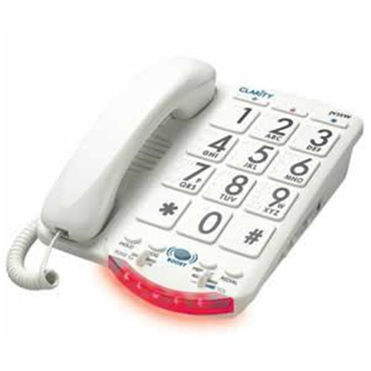 Amplified Big Button Phone White Keys