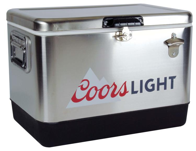 Coors Light Stainless Steel Ice Chest