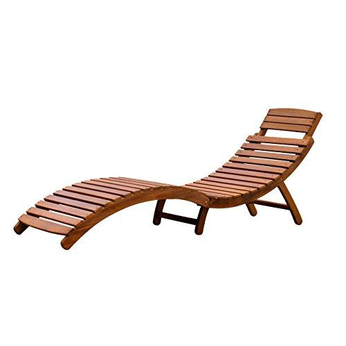 Northbeam Curved Folding Chaise Lounge