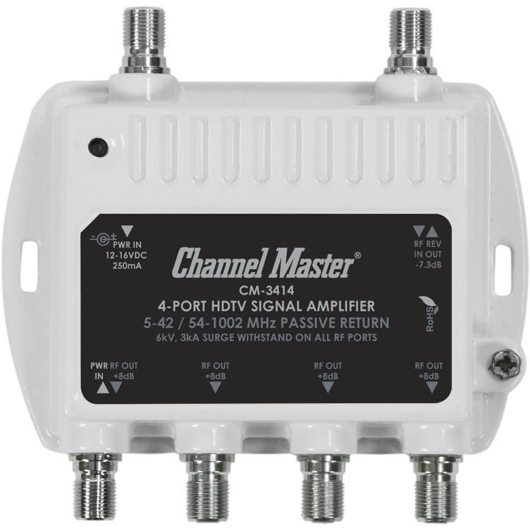 4 Port Distribution Amplifier