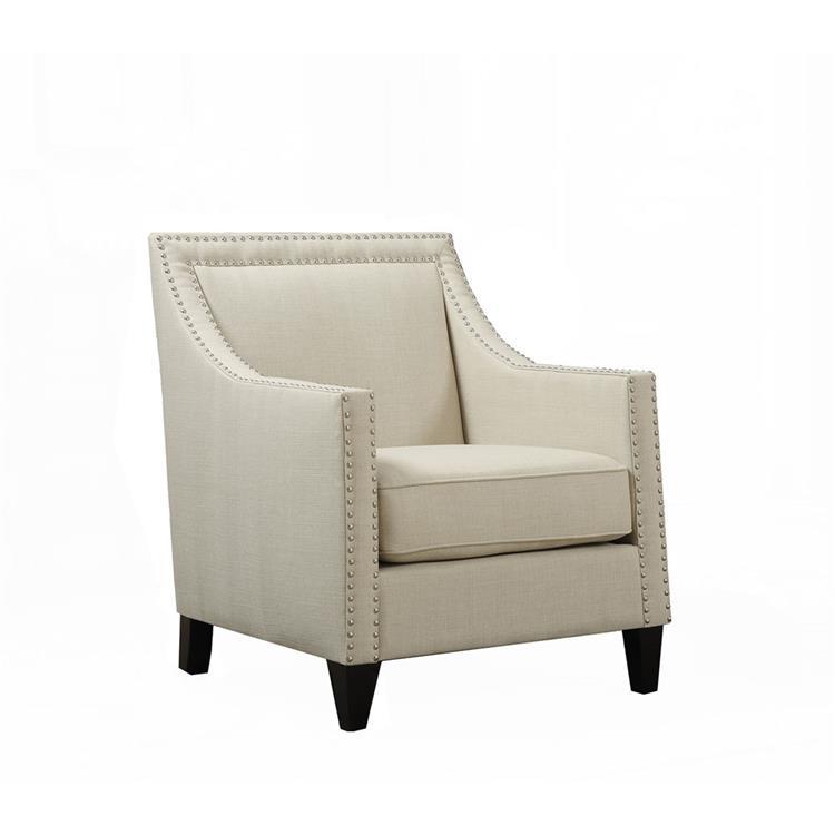 Cambridge Bridgehampton Accent Chair with Nailhead Trim in Teal