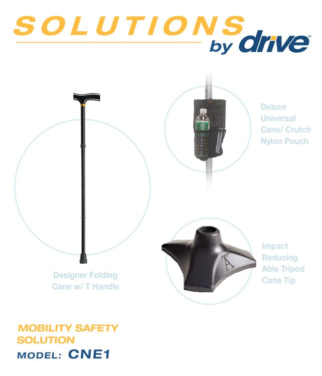 Mobility Safety Solution Carrying Pouch